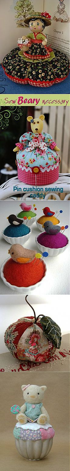 ♥ Acericos / Pincushion on Pinterest