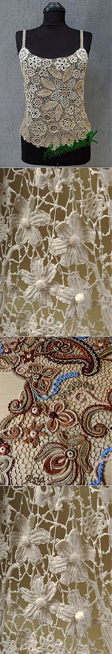 (1) antique Irish crochet lace | linens laces gorgeous dresses hats and…