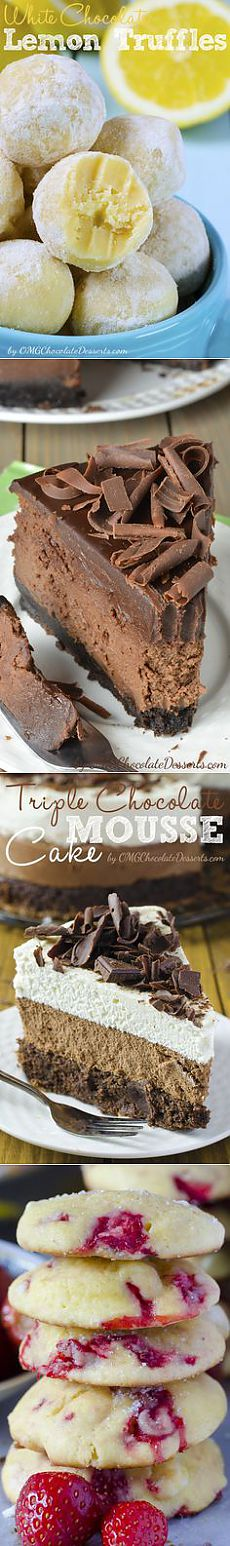 Pins from omgchocolatedesserts.com on Pinterest  вкусняшки